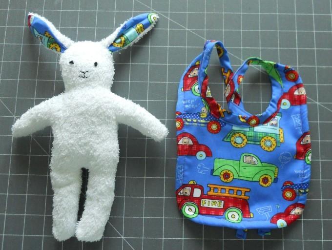 Bunny and bib