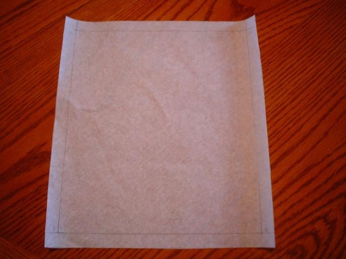 Nehzat's makeup bag pattern