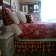 More bedskirts, Euro pillows, Lumbar pillow