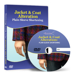 Jacket & Coat Alteration: Plain Sleeve Shortening Video Lesson on DVD