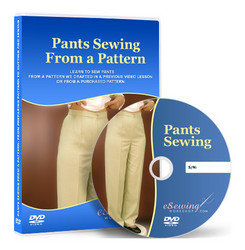 Pants Sewing From a Pattern Video Lesson on DVD