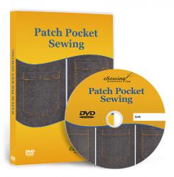 Patch Pocket Sewing Video Lessons on DVD