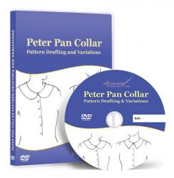 Peter Pan Collar Pattern Drafting and Variations - Online Video Lesson on DVD