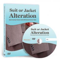 Suit or Jacket Alteration: Shortening Sleeve with Mitered Corner Vent