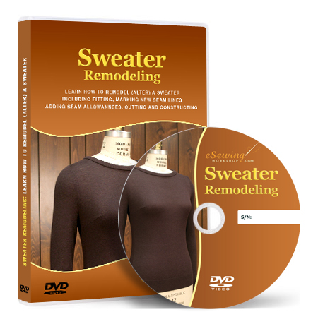 Sweater Remodeling (Pullover Alteration) Sewing Video ...
