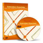 Embroidery Essentials Video Lessons on DVD