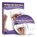 Full Figure Skirt Block Pattern Making - Video Lessons on DVD