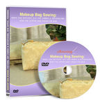 Makeup Bag Sewing Video Lessons on DVD