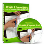 Straight and Tapered Skirt Block Pattern-Making Video Lessons on DVD