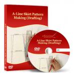 A-Line Skirt Pattern Making (Drafting) - Video Lesson on DVD