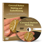 Covered Button Making & Embellishing Video Lessons on DVD