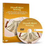 Dirndl Skirt Sewing Video Lesson on DVD