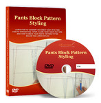 Pants Block Patter Styling Video Lesson on DVD