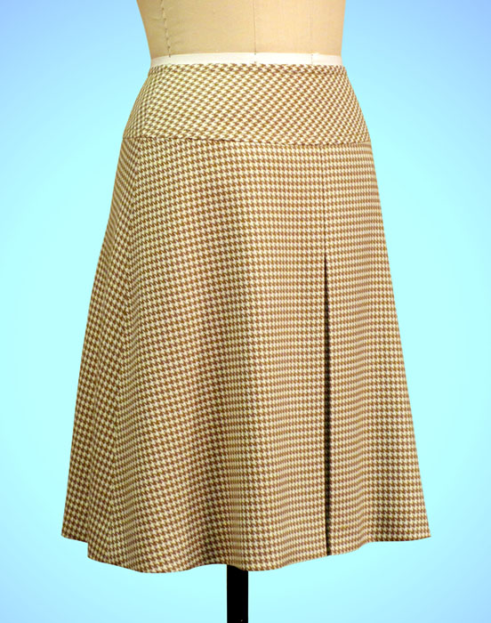 New Video - A-Line Skirt Sewing with Yoke and Center Front Box Pleat ...