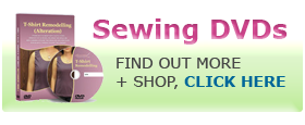 Shop Sewing DVDs